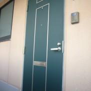 玄関ドア入口の様子