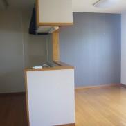 広めの台所、対面キッチンです
