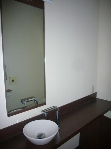 トイレ内の洗面スペース