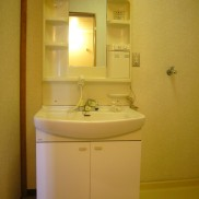 シャワー付独立洗面台完備