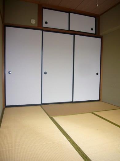 6帖和室の収納